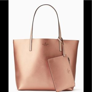 Kate Spade Arch Place Mya Reversible Tote NWT